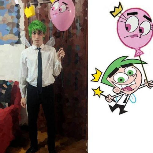 Cosmo cosplay Nickelodeon - Due fantagenitori - The Fairly OddParents - Gab Cosplay - Cosplayer italiano