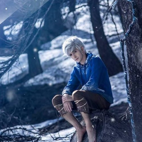 Jack Frost cosplay DreamWorks Animation - Le 5 leggende - Rise of the guardians - Gab Cosplay - Cosplayer italiano