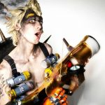Junkrat cosplay Overwatch videogame - Gab Cosplay - Cosplayer italiano