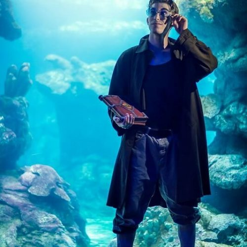 Milo cosplay Disney - Atlantis - L'impero perduto - Gab Cosplay - Cosplayer italiano