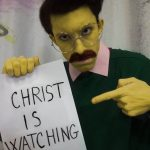 Ned Flanders cosplay Simpson - Gab Cosplay - Cosplayer italiano